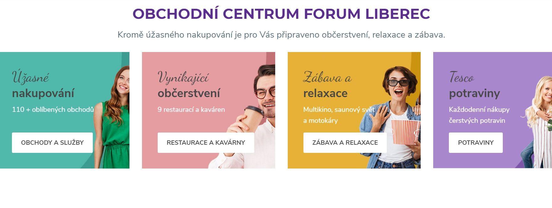 New Retail Units – Forum Liberec